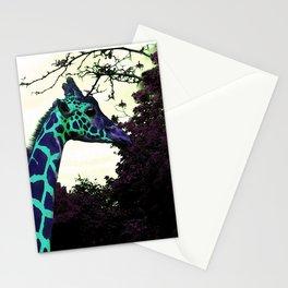 Alien Giraffe Has Landed Stationery Cards