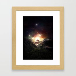 The Glass Mountain Framed Art Print