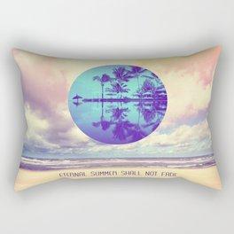 Eternal Summer -Beach- Rectangular Pillow