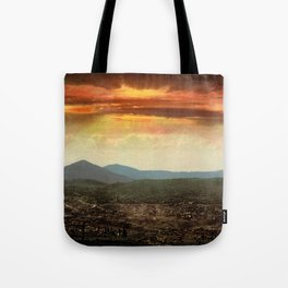 Sunset from Cripple Creek, Colorado, ca. 1899 Tote Bag