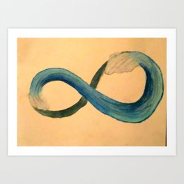 Infinite Wave Art Print