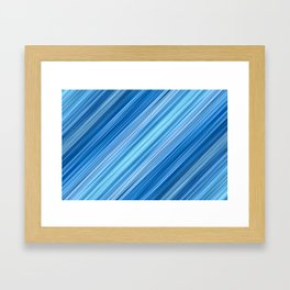 Ambient 1 in Blue Framed Art Print