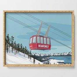 Heavenly Mt. Gondola Serving Tray