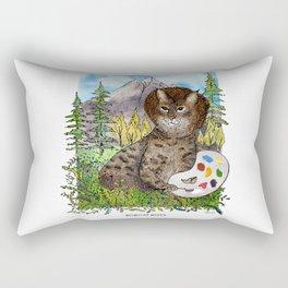 Bobcat Ross Rectangular Pillow