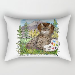 Bobcat Ross Rectangular Pillow
