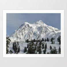 Snow Top Art Print