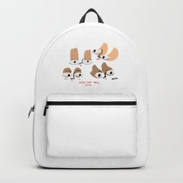 here for you, chica. Backpack