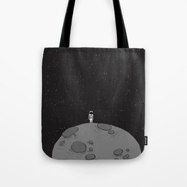 Tiny Little Spaceman Tote Bag