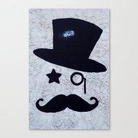 gentleman Canvas Prints featuring Gentleman by Lara Brambilla