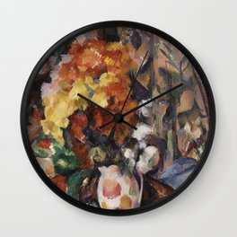 The Flowered Vase Wall Clock