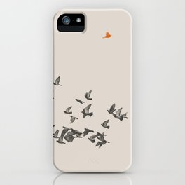 Bird and Birds iPhone Case