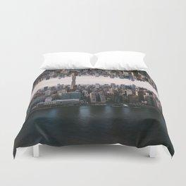 New York City Upside Down Duvet Cover