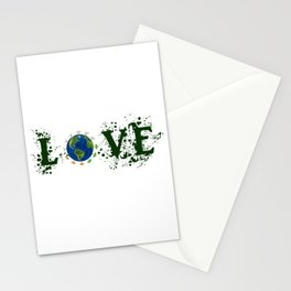 Earth Day Love Mother Earth Stationery Cards