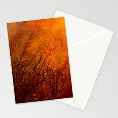 The burning world Stationery Cards