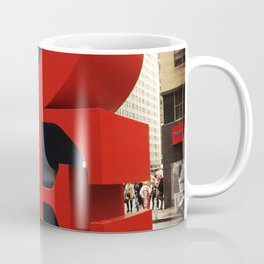 Love Sculpture - NYC Coffee Mug