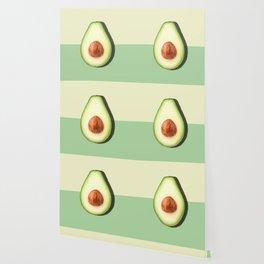 Avocado Half Slice Wallpaper