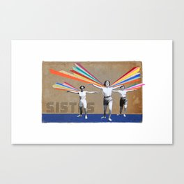 Arrival (with white background) Canvas Print