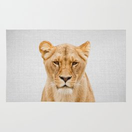 Lioness - Colorful Rug