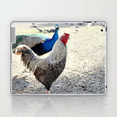 feathered friends Laptop & iPad Skin