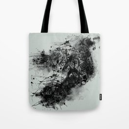 THE LONELY BIRD SONG Tote Bag