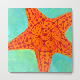 Starfish #3 Metal Print