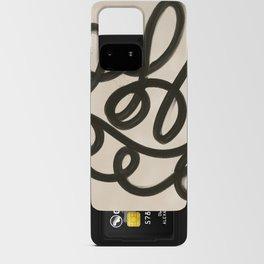 Splatter Line Art Print Android Card Case