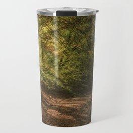 Autumn Woodland  Sunrise Travel Mug