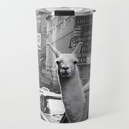 New York Llama Travel Mug