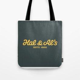 Hal & Al's Breakfast Tote Bag