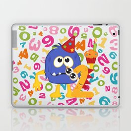 Birthday Monsters 2nd Birthday Laptop & iPad Skin