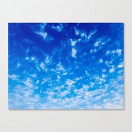 Whispy Clouds Canvas Print