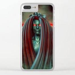 Medusa 3000 Clear iPhone Case