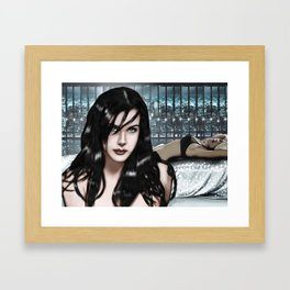 Liv Fox Room Framed Art Print