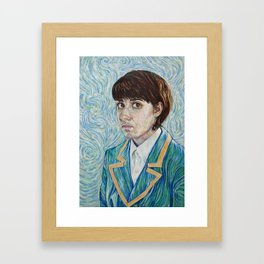 Vincent and Me Framed Art Print