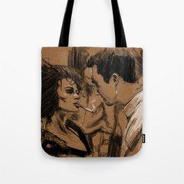 Marla & Tyler doodle Tote Bag