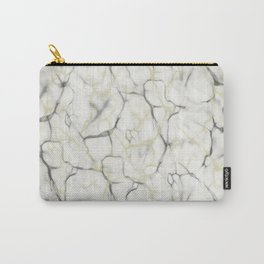 Two Toned Marbling Carry-All Pouch