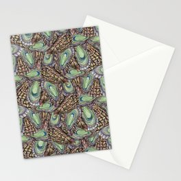 Oysters Collage Stationery Cards
