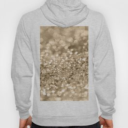 Champagne Gold Lady Glitter #2 #shiny #decor #art #society6 Hoody