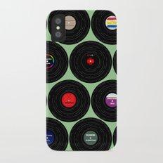 Vinyl Love Slim Case iPhone X