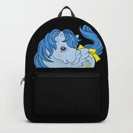 g1 my little pony Blueberry Baskets Backpack