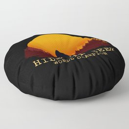 Bigfoot - Hide and Seek World Champion Floor Pillow