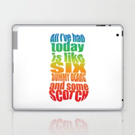 Gummy Bears and Scotch Laptop & iPad Skin