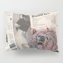 His Master's Voice - The Bear Pillow Sham