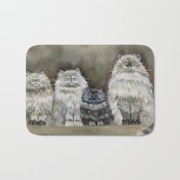 The Four Amigos Bath Mat