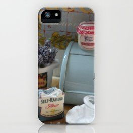 A day for baking iPhone Case