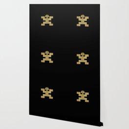 Pectoral Pre-Columbian Gold Piece Wallpaper