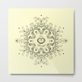 Resolve to Love Yourself Metal Print
