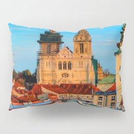 Croatia Cathedral Pillow Sham