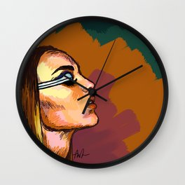 ZELLA DAY Wall Clock