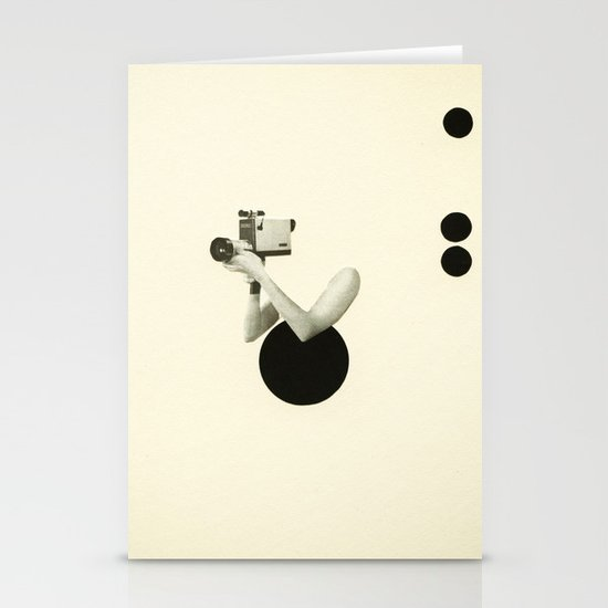 Film Noir Stationery Cards